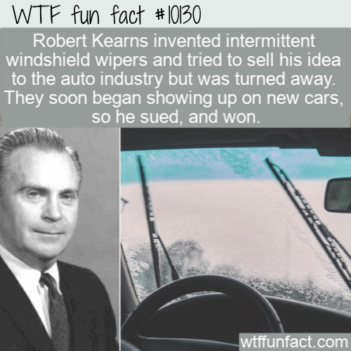 WTF Fun Fact - new cars, be sued, and won
