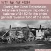 WTF Fun Fact – Arkansas Balance Sheet