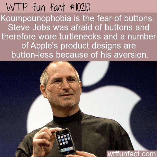 WTF Fun Fact - Koumpounophobia