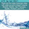 WTF Fun Fact – Cities With Pure Water
