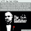 WTF Fun Fact – No Mafia In The Godfather