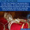 WTF Fun Fact – Pope Celestine V