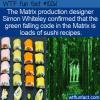 WTF Fun Fact – The Matrix Sushi Recipes
