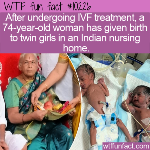 WTF Fun Fact - Twin Birth After 74 years