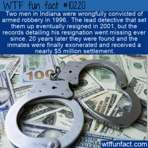 WTF Fun Fact - Wrongful Conviction