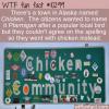 WTF Fun Fact – Town of Chicken Alaska