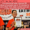 WTF Fun Fact – Pumpkin Pie Eating