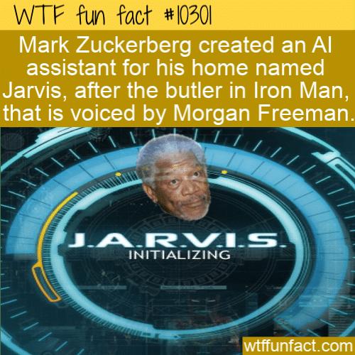 WTF Fun Fact - Mark Zuckerberg's AI Jarvis