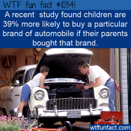 WTF Fun Fact - Parent's Car Brand