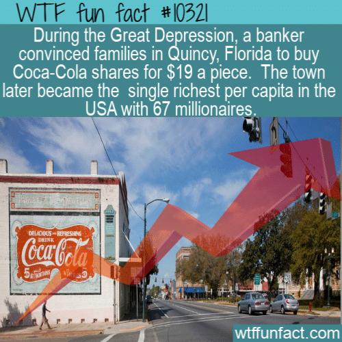 WTF Fun Fact - Quincy Florida Coca Cola