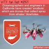 WTF Fun Fact – Snotbot Drones
