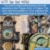 WTF Fun Fact – Prague Orloj