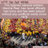 WTF Fun Fact – Wordless National Anthem