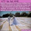 WTF Fun Fact – World's Longest Lace Veil