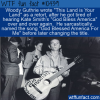 WTF Fun Fact – God Blessed America for Me