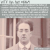 WTF Fun Fact – Father Of Modern Forecasting