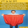 WTF Fun Fact – Red Underwear For New Year's Good Luck