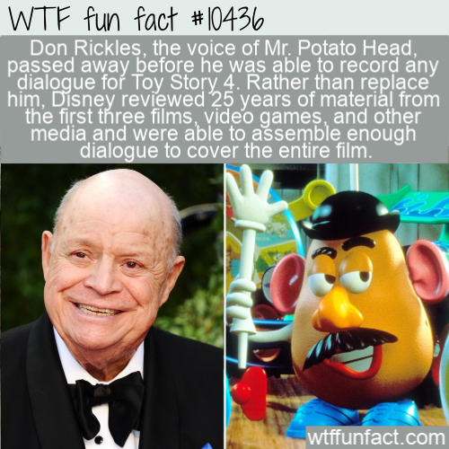 WTF Fun Fact - Toy Story 4 Voice