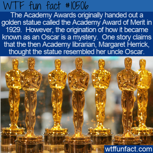 WTF Fun Fact - Academy Award Oscar Mystery