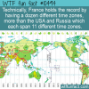 WTF Fun Fact – Time For France