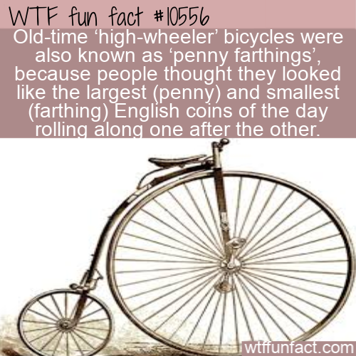 WTF Fun Fact - Go Faster With Big Front Wheel