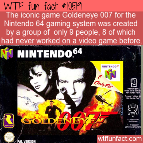 WTF Fun Fact - Hard Work For Goldeneye