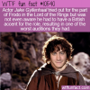 WTF Fun Fact – Jake Gyllenhaal Frod-Oh No