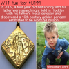 WTF Fun Fact – Four Year Old Finds Gold