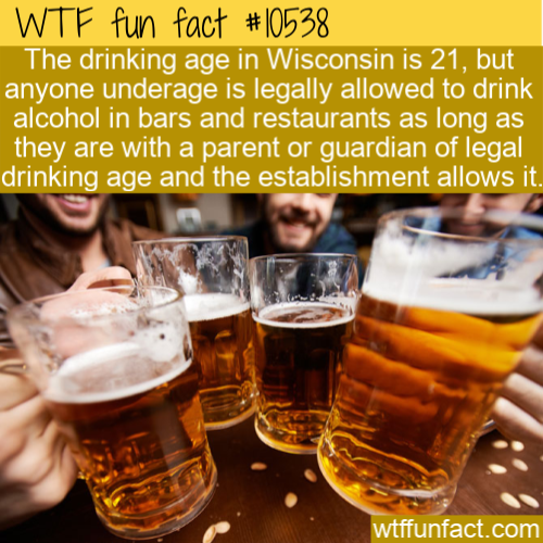 WTF Fun Fact - No Age Limit For Alcohol