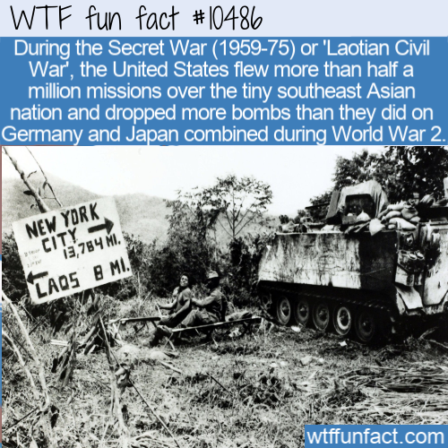 WTF Fun Fact - The Loatian War