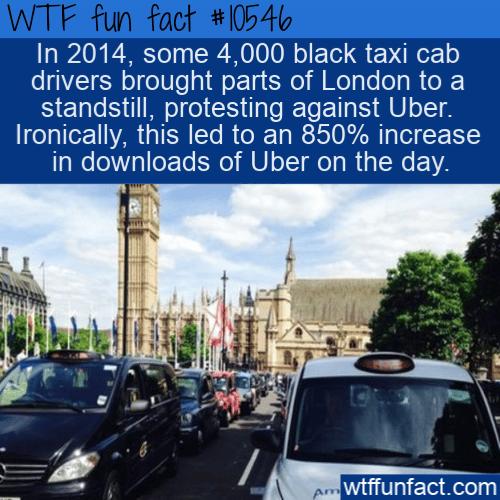 WTF Fun Fact - Uber In London