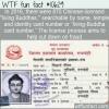 WTF Fun Fact – Living Buddha Card