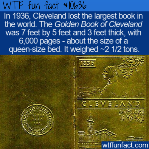 WTF Fun Fact - Cleveland Lost Its Golden Book