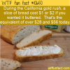 WTF Fun Fact – Gold For Bread