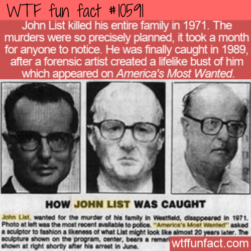 WTF Fun Fact - John List