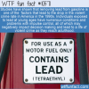 WTF Fun Fact – Lead Gasoline And Crime