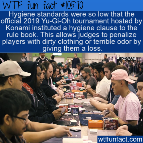 WTF Fun Fact - Penalize For Dirty Clothing