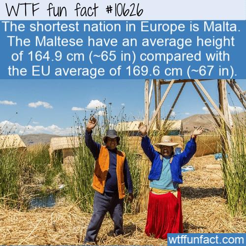 WTF Fun Fact - Shortest Nation Malta