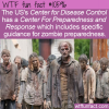 WTF Fun Fact – CDC Prepares For Everything