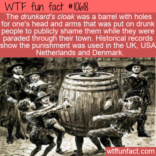WTF Fun Fact - Drunkard's Cloak