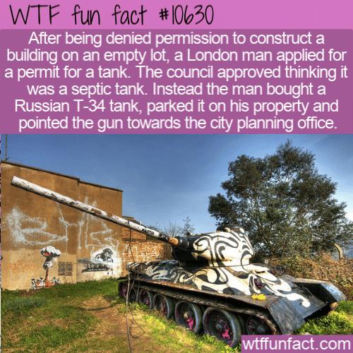 WTF Fun Fact - Stompie The Tank