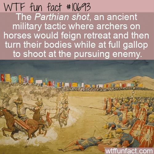 WTF Fun Fact - Ancient Shooting Technique