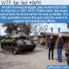 WTF Fun Fact – Arnold's M-47 Tank