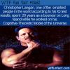 WTF Fun Fact – Christopher Langan