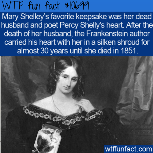 WTF Fun Fact - Frankenstein's Heart