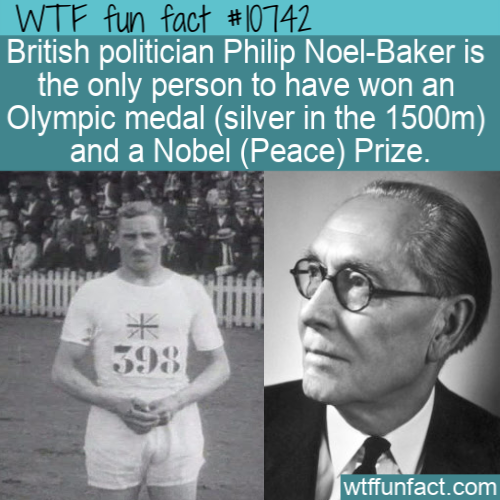 WTF Fun Fact - Philip Noel-Baker