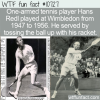 WTF Fun Fact – One-Armed Tennis