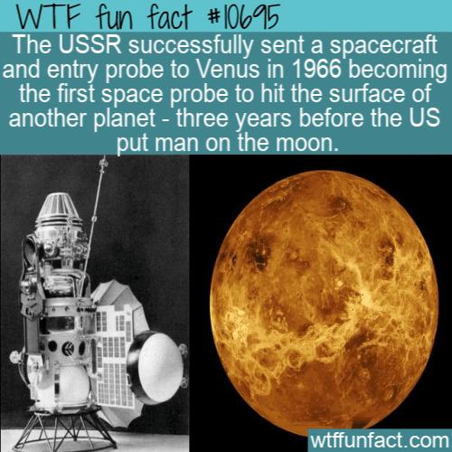 WTF Fun Fact - Venera 3
