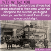 WTF Fun Fact – How To Stop A London Bus
