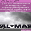WTF Fun Fact – Dead Peasant Insurance